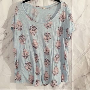 Lucky Brand blue t-shirt